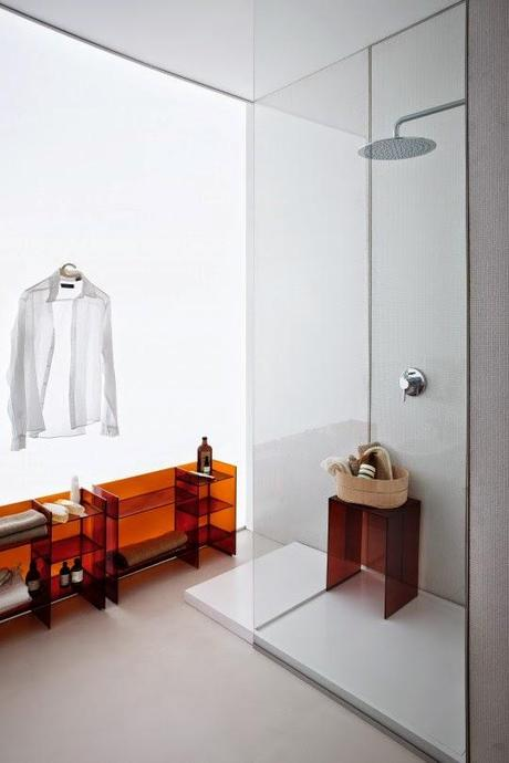 Design in plexiglass: il plexiglass e l'arredo bagno - Paperblog