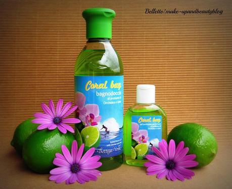 Bagno Doccia Bottega Verde : Bottega verde coral bay bagnodoccia e gel purificante per le mani