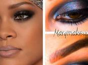 Time trucco giorno Rihanna Inspired Make-up look