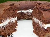 Ciambellone cacao crema ricotta