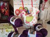 Borsa fettuccia crochet