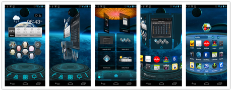 Next Launcher 3D Shell v3.09 Apk Free