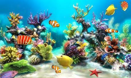 sfondo acquario gratis