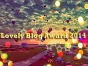 Premio dell'amicizia: Lovely Blog Award 2014