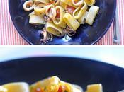 Calamarata (Mezzi Paccheri Calamari Pomodorini)