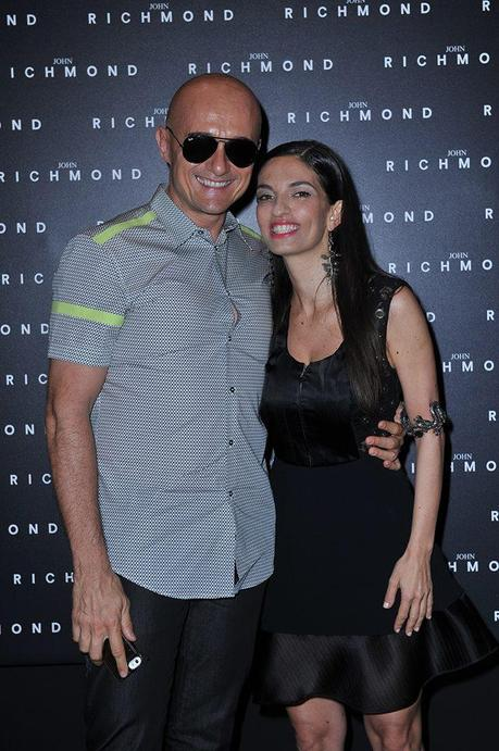 JOHN RICHMOND COLLEZIONE SS15 MILANO FASHION WEEK PRIMAVERA ESTATE 2015 alessandra moschillo alfonso signorini