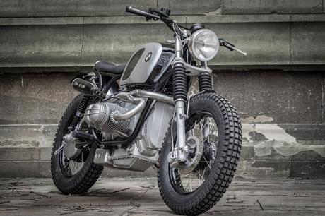 Bmw Scrambler By Down Amp Out Caf 232 Racers Paperblog