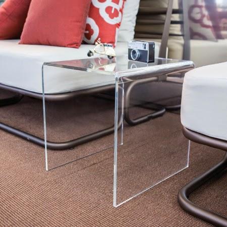 Tavolini moderni in plexiglass trasparente scegli quello - Tavolino plexiglass ...