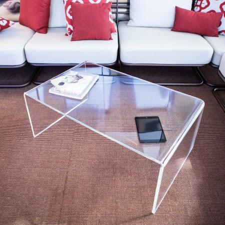Tavolini moderni in plexiglass trasparente scegli quello - Tavolini plexiglass ...