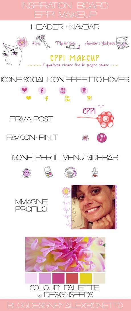 Nuovo design di eppi makeup i miei progetti per l 39 estate for Nuovo design per l inghilterra