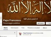 hackerata pagina facebook papa Francesco