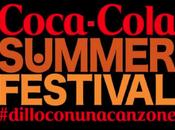 Coca Cola Summer Festival Canale5 tappa Luglio ospiti: Valerio Scanu, Marco Carta, Ruggeri Tiro Mancino Elisa ospite speciale