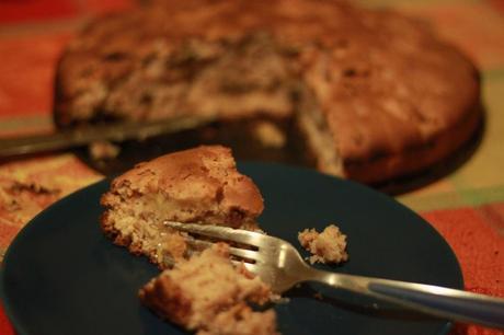Torta (di mele) vegana