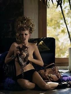 Lara Stone in Dolce & Gabbana by Mark Segal