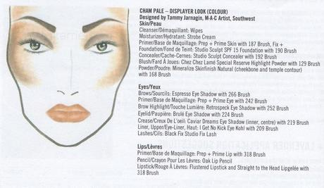 Mac Cosmetics, Cham Pale Collection : Le Face Charts ...