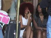Rihanna capelli Telespalla Manda Quel Paese Paparazzi ....