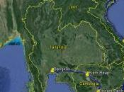 Mappa Cambogia-Vietnam