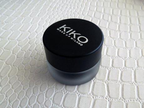 kiko lasting gel eyeliner foto swatches review