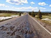 """""""Yellowstone: Calore Sotterraneo facendo sciogliere l'Asfalto!"""""""