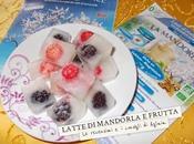 Cubetti ghiaccio latte mandorla frutta (fragole&more)