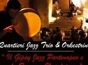 Sabato luglio 2014 concerto Mario Romano Quartieri Jazz Trio Orkestrine Napoli.