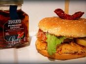 Panino base pesce pomodori secchi zuccato (fish burger)