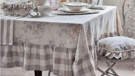 Nuovi arrivi blanc maricl romantic garden collection - Coordinati cucina country ...