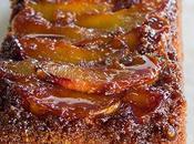 Torta rustica pesche caramellate