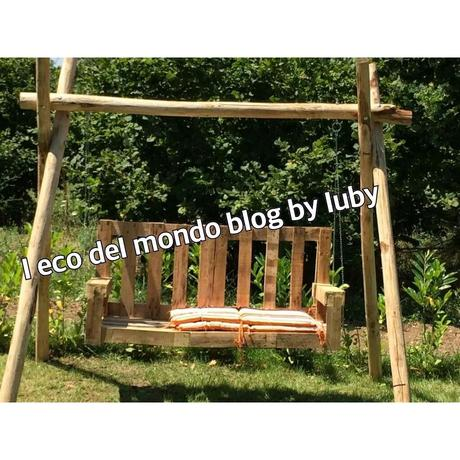 Dondolo con pallet bancali tutorial con foto paperblog for Lavori con bancali