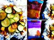 Pollo curry zucchine riso thai
