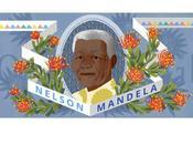 doodle Google oggi dedicato Nelson Mandela