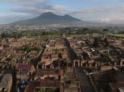 Pompei, viaggio visto drone scavi