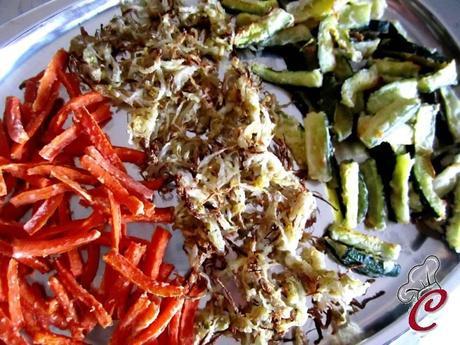 Tris di verdure croccanti al forno l 39 intenso piacere del for Cosa vuol dire forno statico