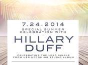 Hilary Duff presenta nuovo singolo York