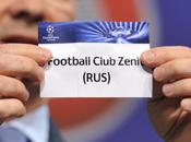 Sorteggio Champions League: Zenit Cipro, Lille Svizzera