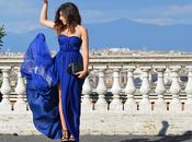 Blue dress Rome