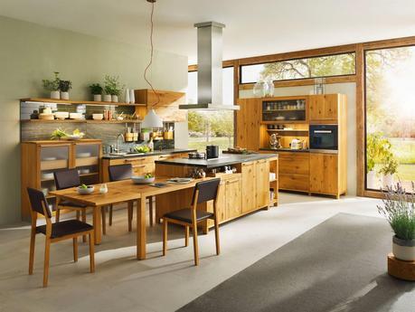 Team 7, le sue nuove cucine in legno naturale - Paperblog