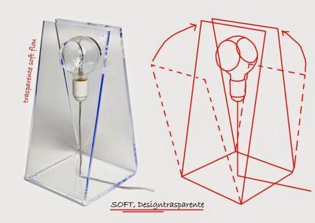 Arredare con il plexiglass quale lampada da tavolo i - Lampade da tavolo in plexiglass ...