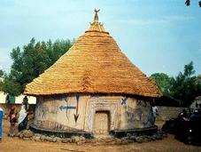 cerimonia della casa sacra Kangaba