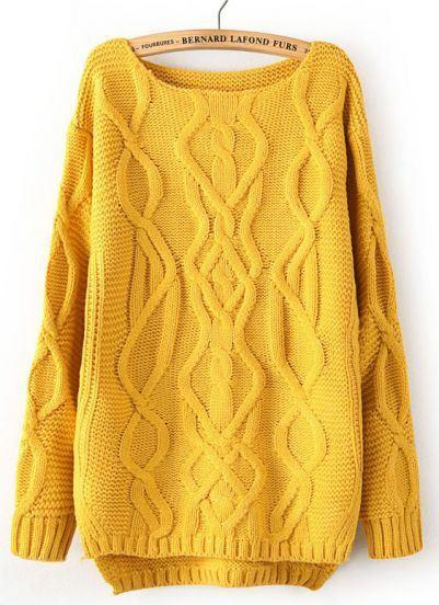 pullover-yellow