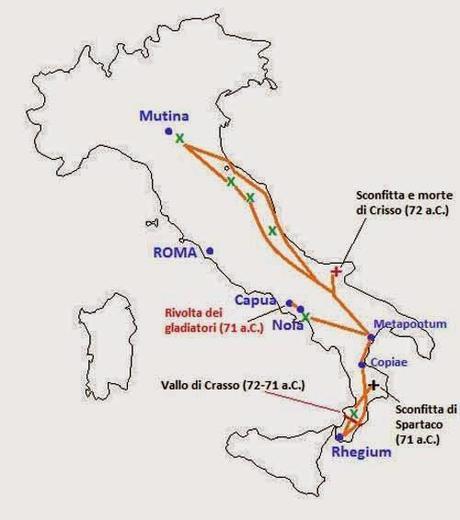 Spartaco lo schiavo che sfid la potenza di roma paperblog - Spartaco roma ...