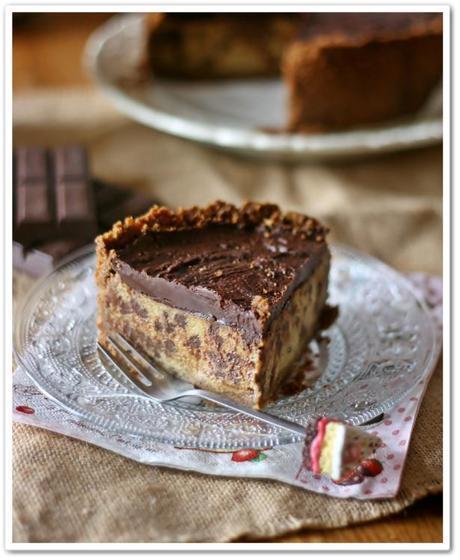Cheesecake melanzane e cioccolato3