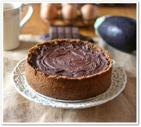 Cheesecake melanzane e cioccolato5