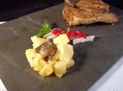 Agnello marinato tartufo patate