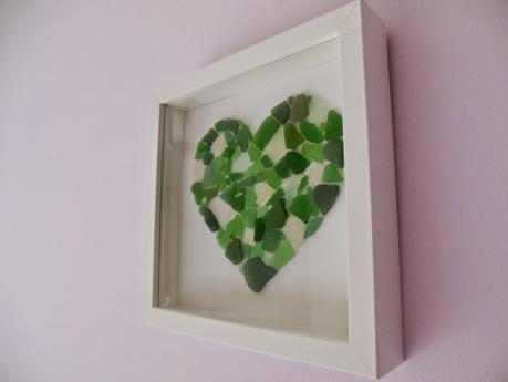 Il quadro fatto con i vetrini del mare paperblog - Cornici per foto ikea ...