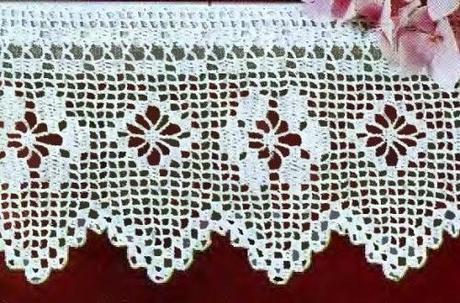 Schemi Per Il Filet Bordi Per Mensole Paperblog