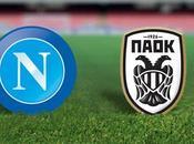 Napoli Paok Salonicco: diretta Sport Mediaset Premium