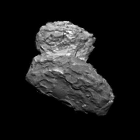 ESA Rosetta 67P/Churyumov-Gerasimenko - OSIRIS Nac - 1 August 1014, 02:48 UTC