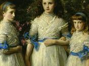 John Everett Millais suoi affetti, dipinti tela.
