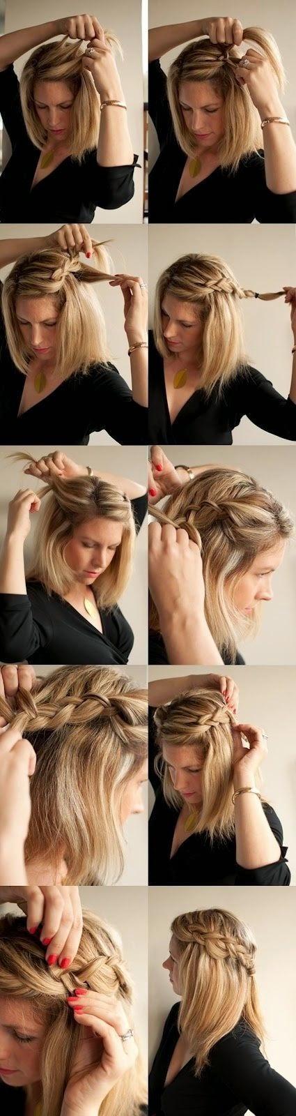 Idee e tutorial per raccogliere i capelli d 39 estate paperblog for Come leggere i progetti per i manichini